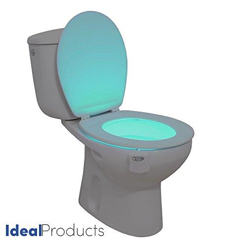 LIGHTBOWL – WC-Licht mit Bewegungssensor und 8 verschiedenen Farben