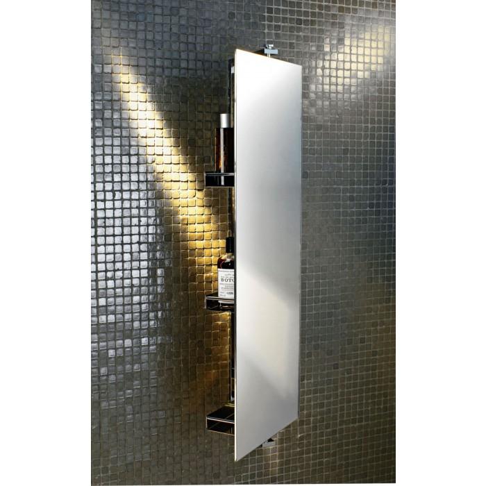 Drehbarer Badezimmerspiegel