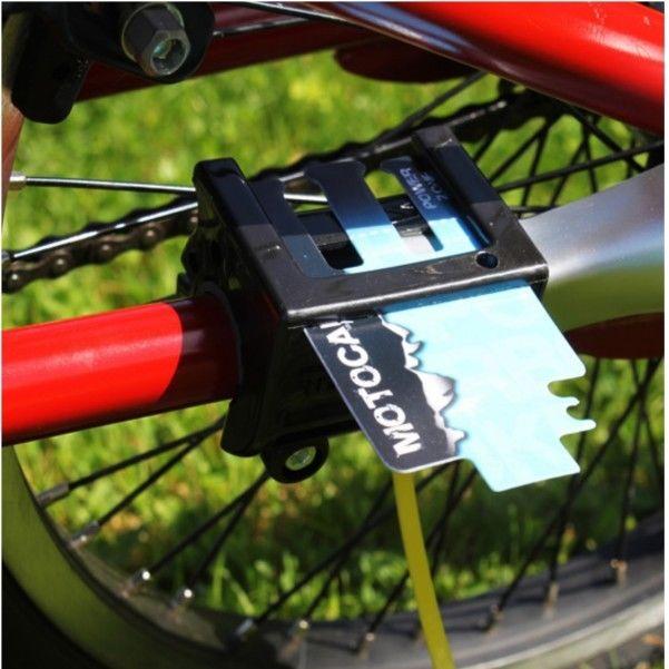 Das Gadget fürs Fahrrad, ein Fahrredauspuff mit realistischem Saund. Der Auspuff fürs Fahrrad aufwww.gadgetzone.de