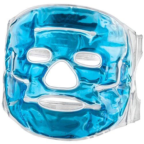 Gel-Gesichtsmaske – Wellnessmaske und Entspannungsmaske
