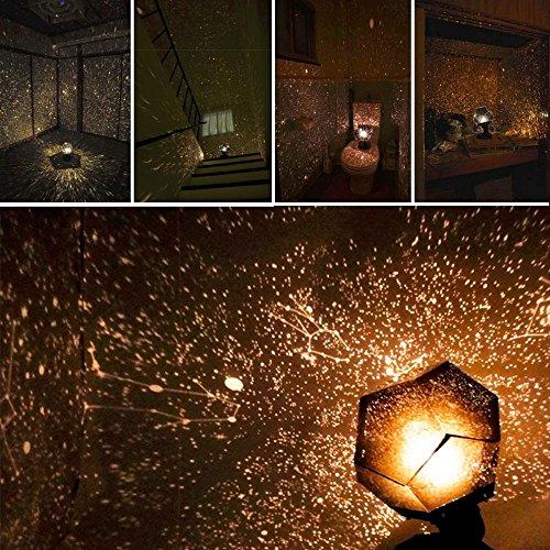 Romantische Sternen & Nachtlichter Projektor