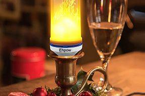 Das LED Feuer auf gadgetzone.de