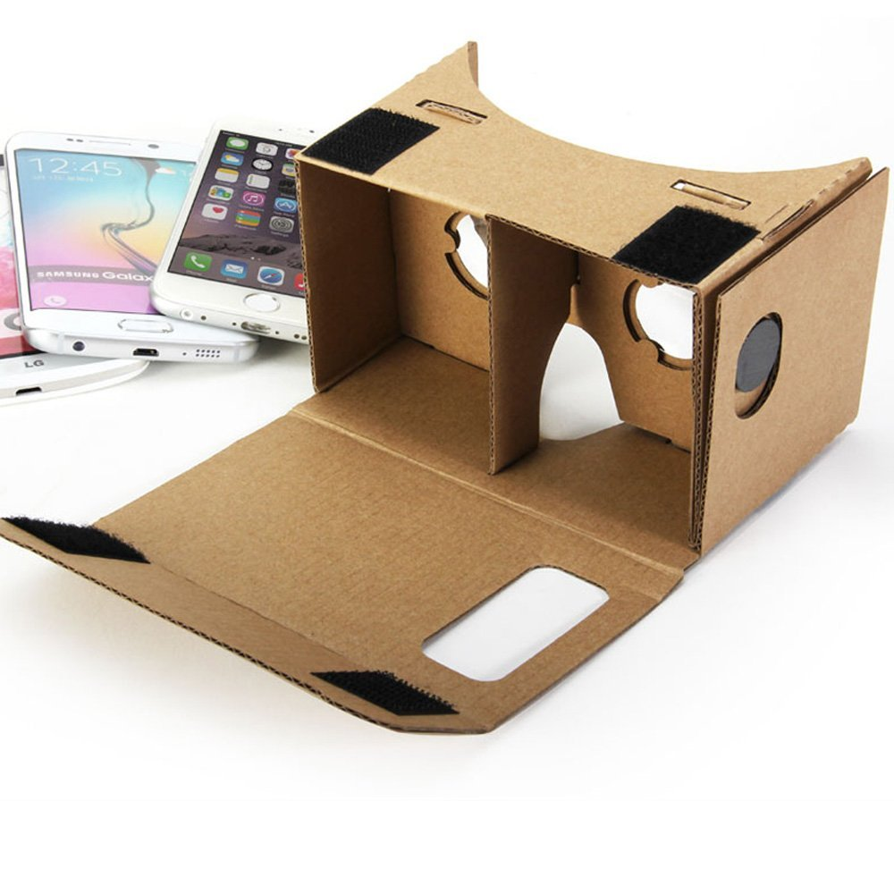 Virtual Reality Brille wie Google Cardboard