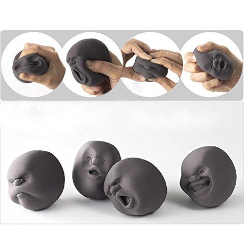 japanischer Anti-Stress-Ball mit menschlichem Gesicht