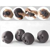 EQLEF® 1Pcs Lustige Neuheit-Geschenk der japanischen Gadgets Vent menschliches Gesichts-Kugel Anti-Stress-Scented Caomaru Toy Geek Gadget Vent Spielzeug