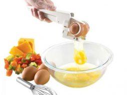der Eierknacker, das Gadget für saubere Hände beim Backen auf gadgetzone.de