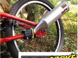 Der Auspuff fürs Fahrrad auf gadgetzone.de