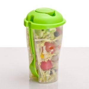 Die Salatbox to go auf gadgetzone.de