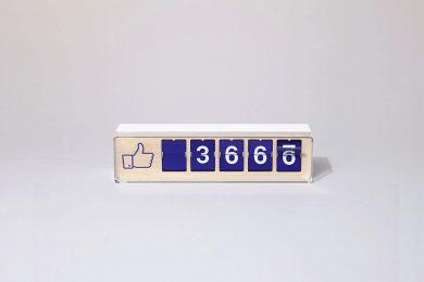 Facebook Likes in Echtzeit auf gadgetzone.de