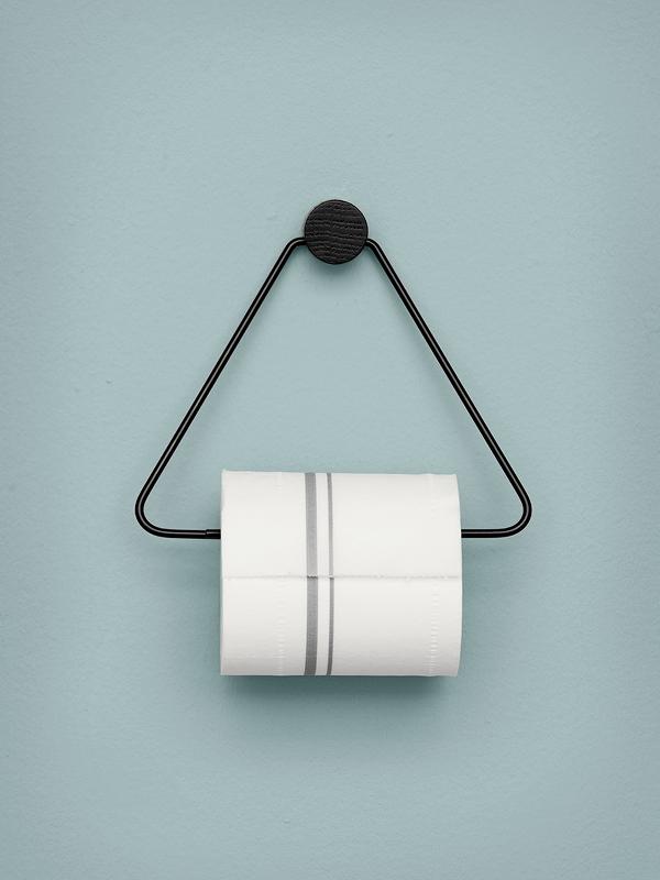 Toilettenpapier mit Stil