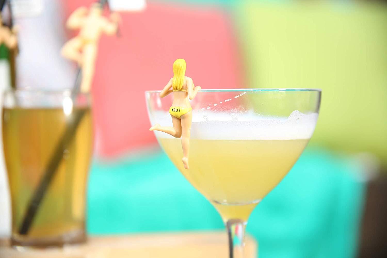 Cocktail-Markierer im Bikini